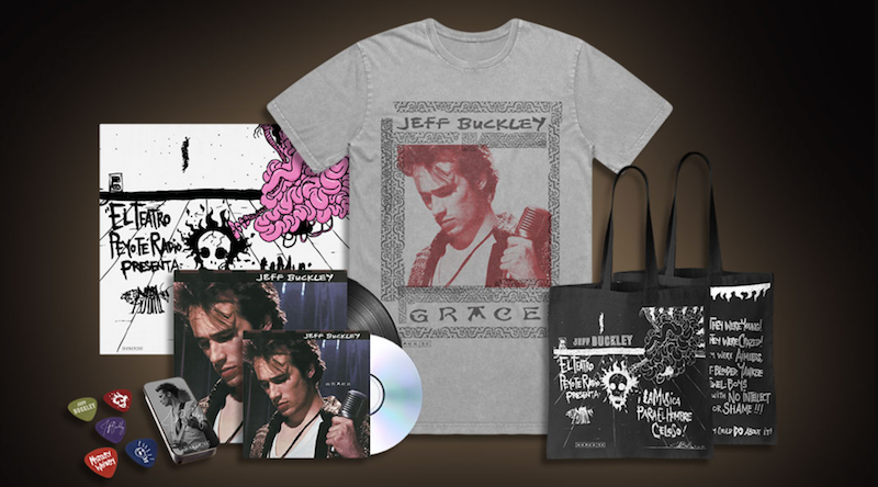 Jeff Buckley Grace Giveaway Bundle