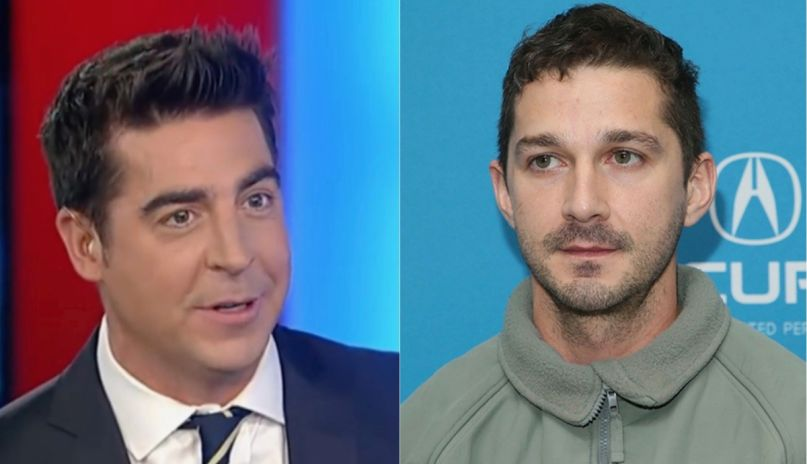 Jesse Watters and Shia LaBeouf