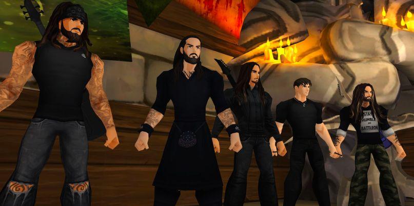 Korn in AdventureQuest video game