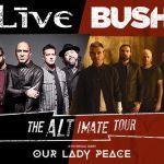 LIVE and Bush