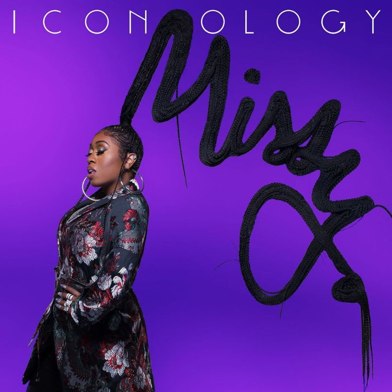 Missy Elliott's cover art for Iconology