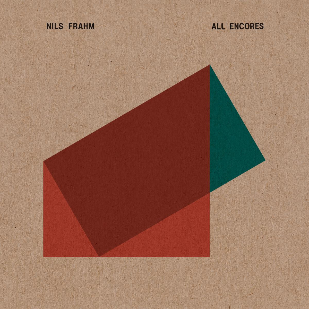 Nils Frahm All Encores cover artwork