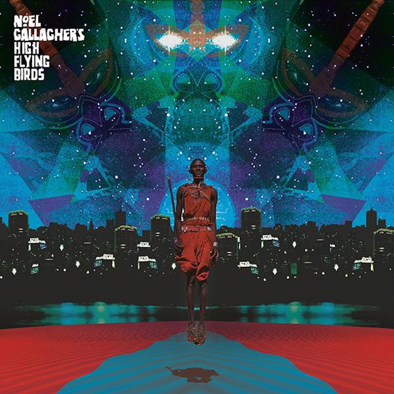 Noel Gallagher's High Flying Birds This is the place EP cover art artwork