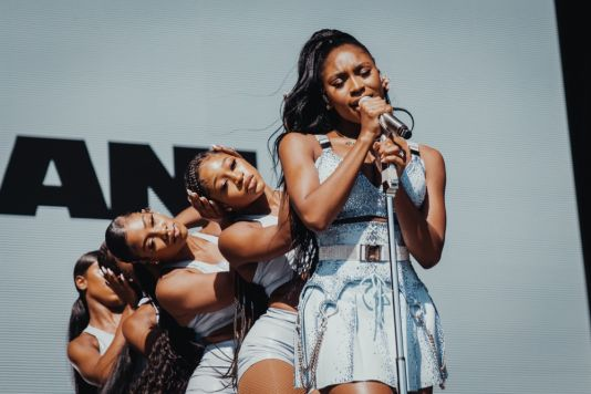 Normani at Lollapalooza 2019, photo by Nick Langlois