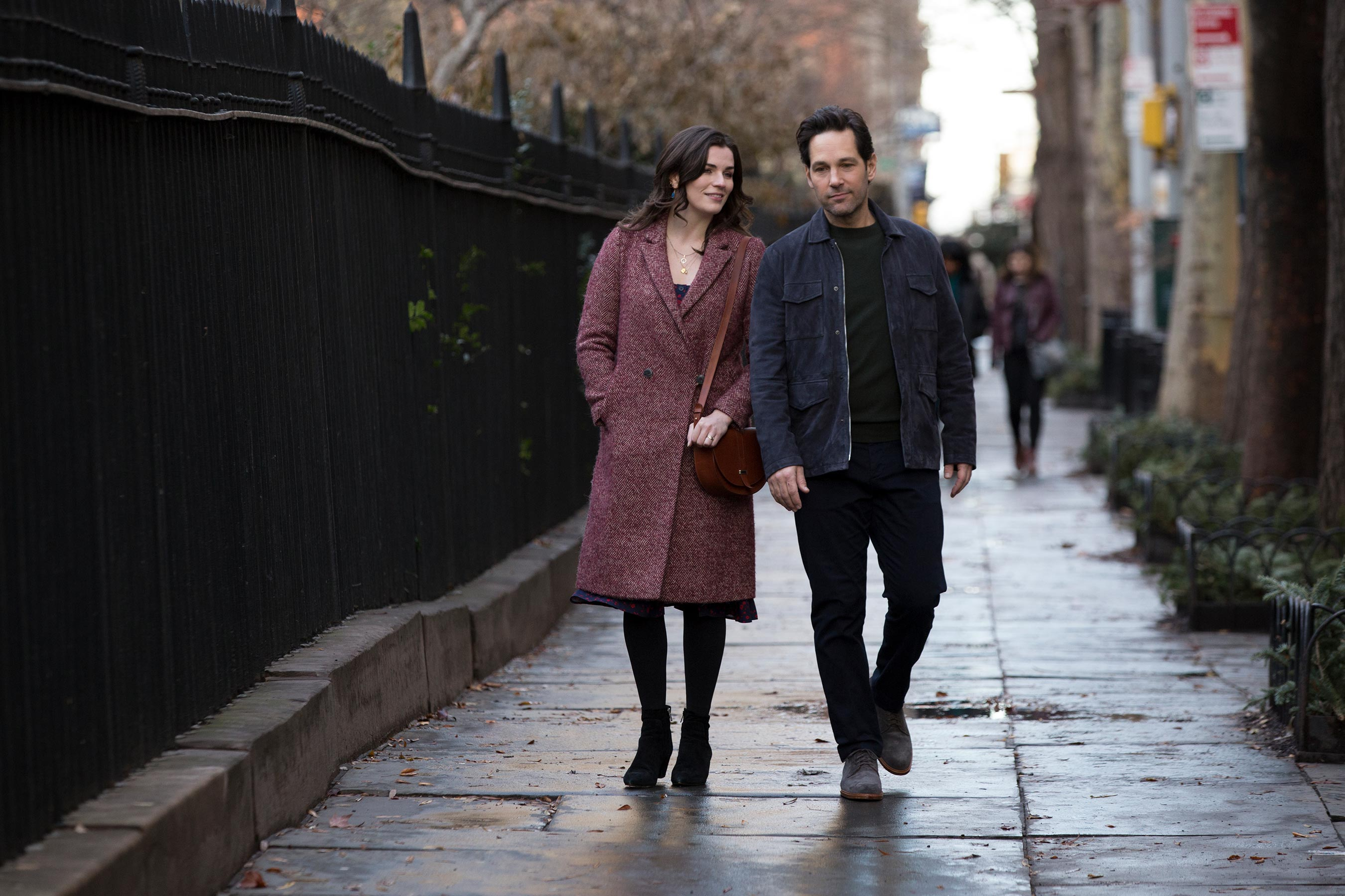 Paul Rudd and Aisling Bea