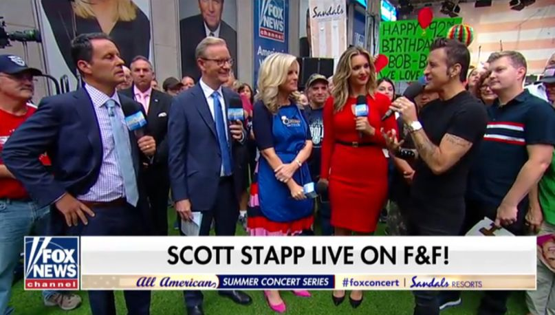 Scott Stapp on Fox & Friends