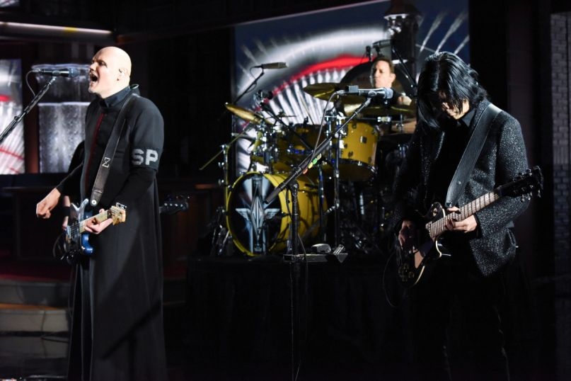 Smashing Pumpkins on Colbert