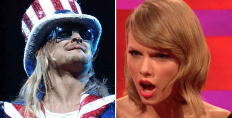 Taylor Swift Kid Rock Politics Door Knob Hollywood
