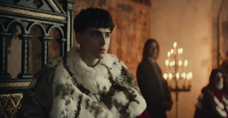 Timothée Chalamet reluctantly takes the throne in first trailer for The King: Watch