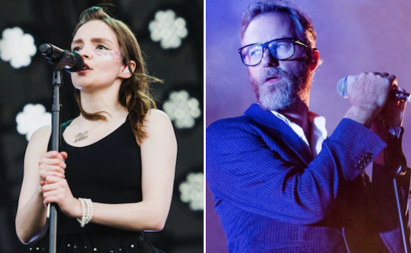 The National Lauren Mayberry CHVRCHES cover Frightened Rabbit My Backwards Walk live Ben Kaye