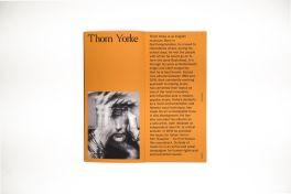 Thom Yorke I See You zine