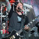 Volbeat's Michael Poulsen at Shoreline Amphitheatre