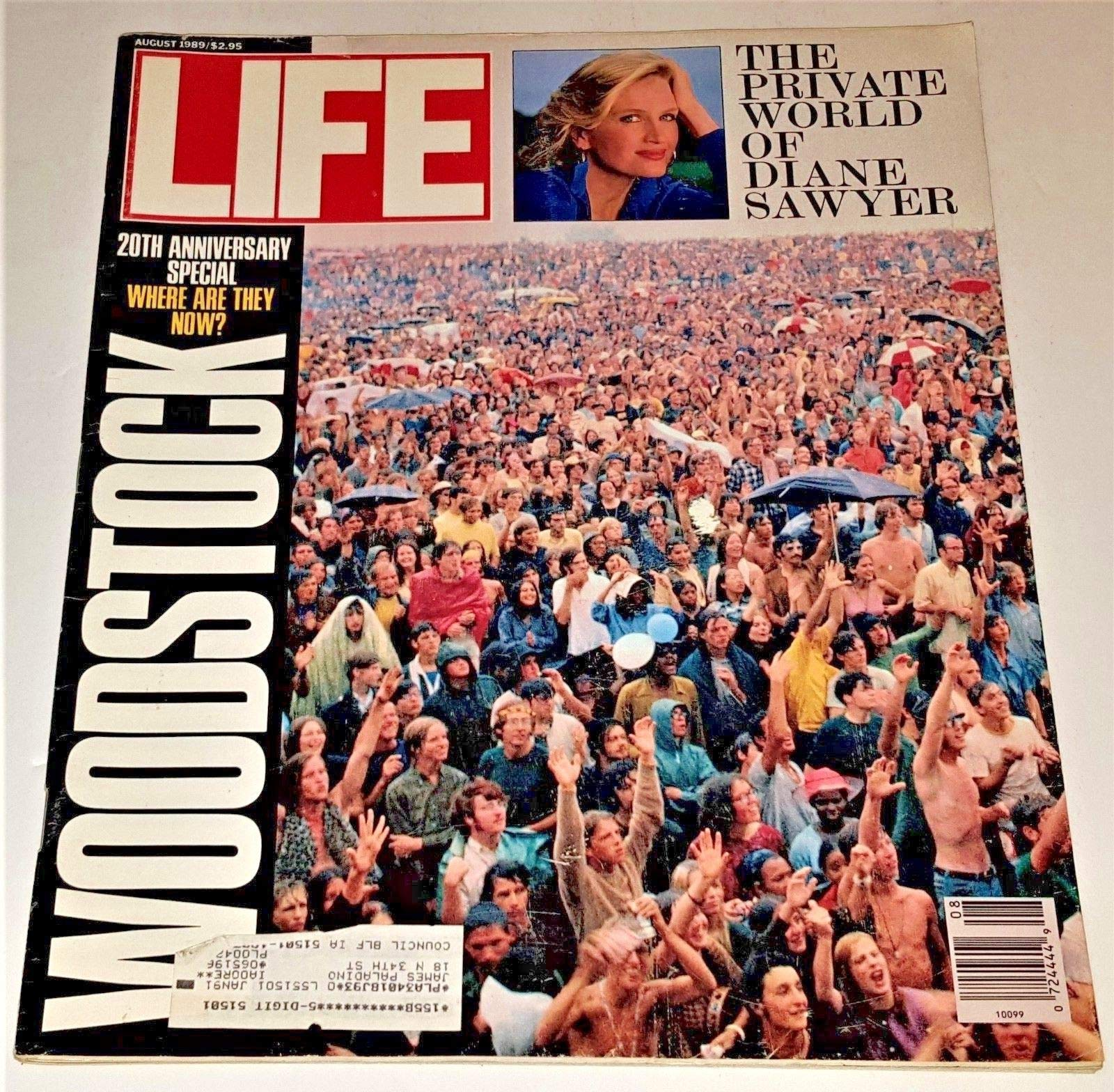 Woodstock 1989 in LIFE magazine