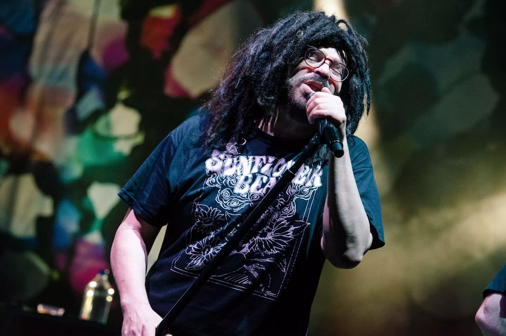 Counting Crows' Adam Duritz shaved