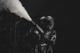 Bring Me the Horizon at Lollapalooza 2019, photo by Nick Langlois