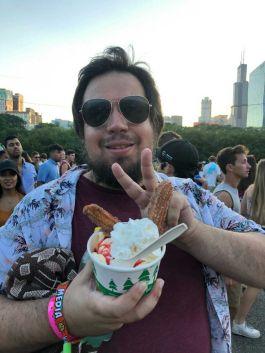 Churro Sundae, Best Bites at Lollapalooza 2019