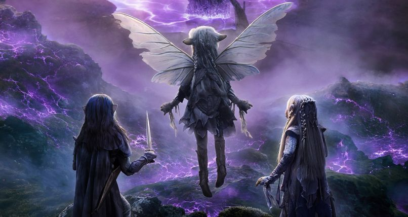 Thra in The Dark Crystal, Netflix,