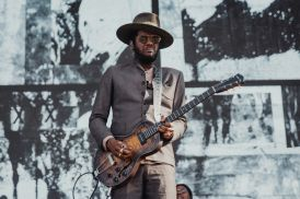 Gary Clark, Jr. at Lollapalooza 2019, photo by Nick Langlois