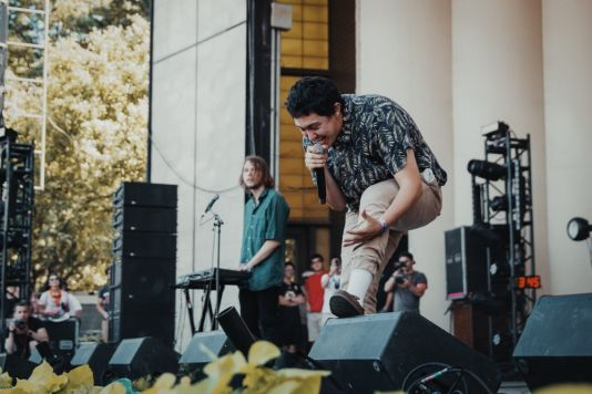 Hobo Johnson at Lollapalooza 2019, photo by Nick Langlois