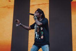 JID at Lollapalooza 2019, photo by Nick Langlois