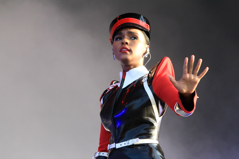 Janelle Monáe at Lollapalooza 2019, photo by Heather Kaplan