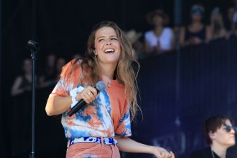 Maggie Rogers, Lollapalooza 2019, photo by Heather Kaplan