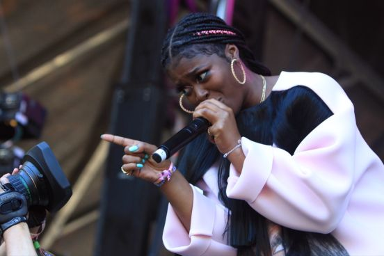 Tierra Whack at Lollapalooza 2019, photo by Heather Kaplan