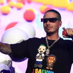 J Balvin at Lollapalooza 2019, photo by Heather Kaplan