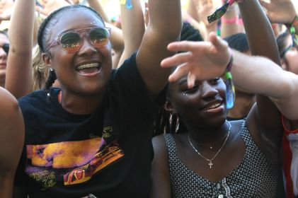 Smino at Lollapalooza 2019, photo by Heather Kaplan