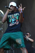 Denzel Curry at Lollapalooza 2019, photo by Heather Kaplan