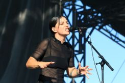Sharon Van Etten at Lollapalooza 2019, photo by Heather Kaplan