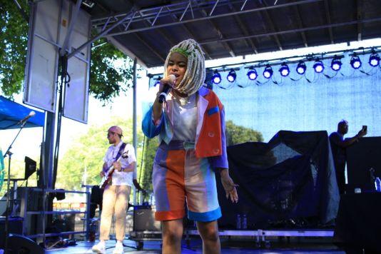 Tayla Parx at Lollapalooza 2019, photo by Heather Kaplan