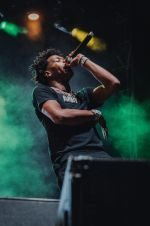 Lil Baby at Lollapalooza 2019, photo by Nick Langlois