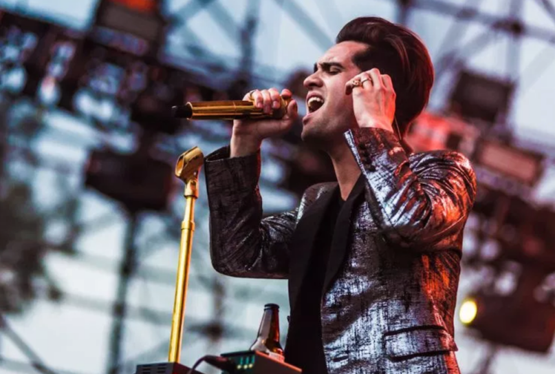 Panic! at the Disco brendon urie new metal song stream