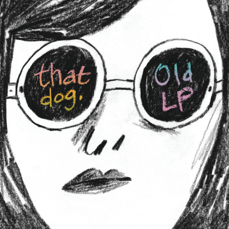 that dog old lp album cover artwork