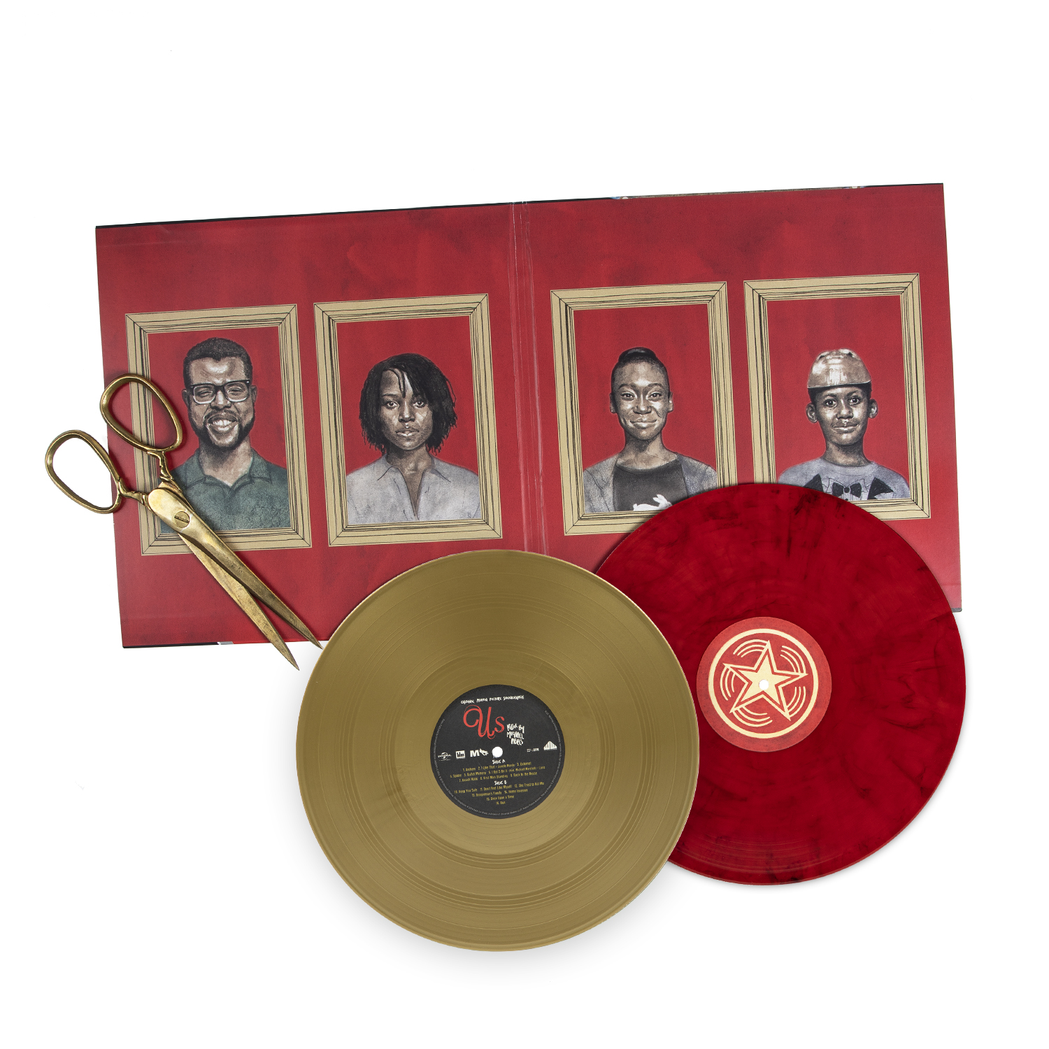 us soundtrack vinyl interior waxwork