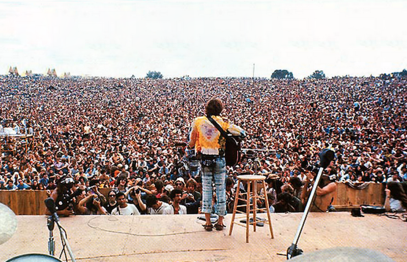 How many people died at woodstock