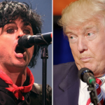 Billie Joe Armstrong Green Day President Donald Trump diarrhea