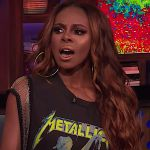Candace Dillard on Watch What Happens Live can't name Metallica song