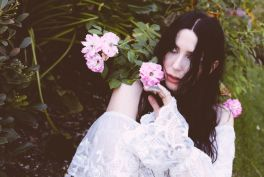 Chelsea Wolfe at Pasadena Daydream, photo by Debi Del Grande