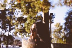 Chelsea Wolfe at Pasadena Daydream, photo by Debi Del Grande