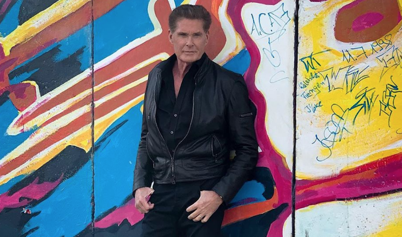"David Hasselhoff shares cover of The Jesus and Mary Chain's ""Head On"": Stream"