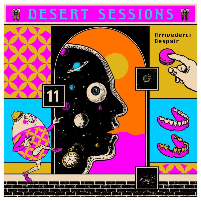 Desert Sessions Vol 11 Josh Homme finally returns with Desert Sessions Vol. 11 & 12: Stream
