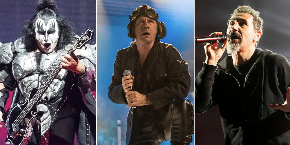 Download Festival 2020 UK Lineup: KISS, Iron Maiden, System of a Down