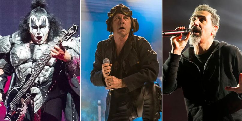 Download 2020 lineup: KISS, Iron Maiden, and System of a Down