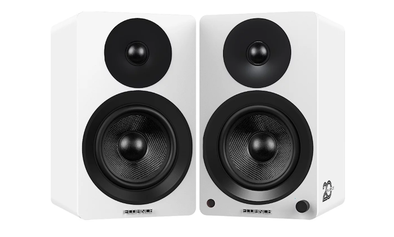 Fluance Ai40 5-inch Powered Bookshelf Speakers giveaway
