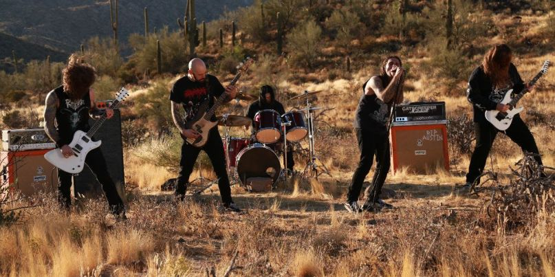 Gatecreeper unveil From the Ashes video