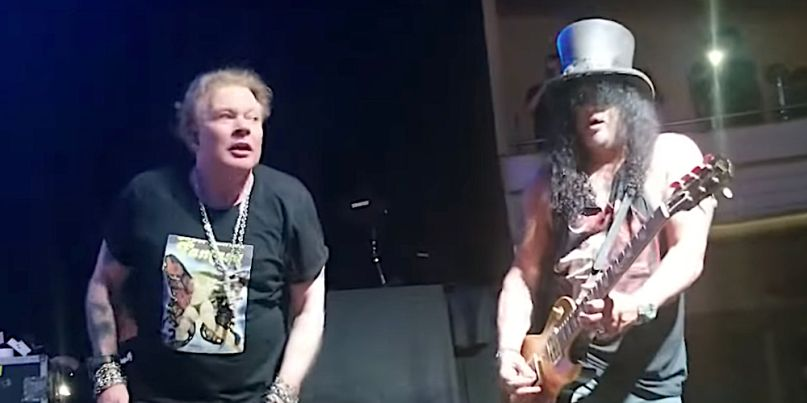 Guns N' Roses perform at Hollywood Palladium