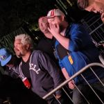 Guy Fieri at Nickleback concert, photo via Tim Tierney / Twitter