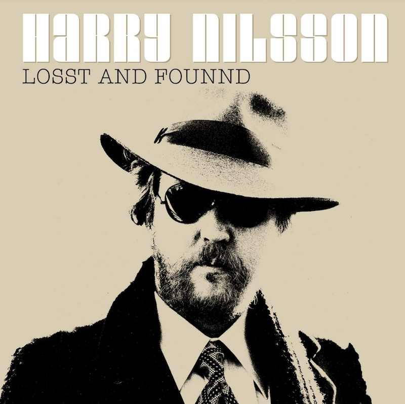 Harry Nilsson Losst and Founnd Artwork